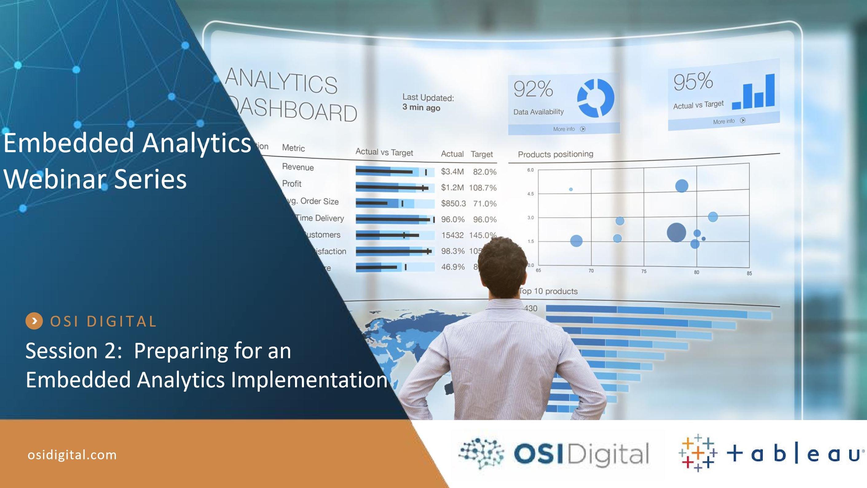 Embedded Analytics Webinar Session 2 - Cover Image