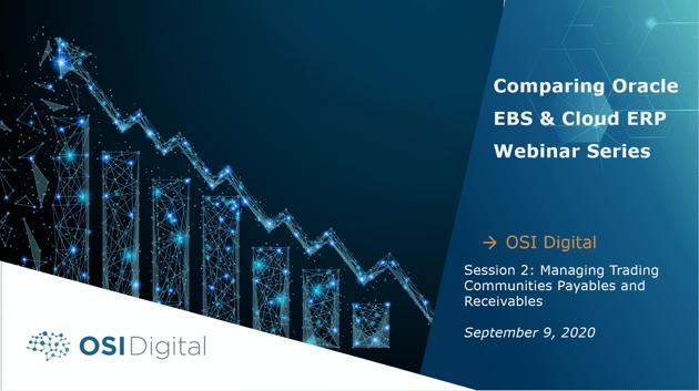 Oracle Webinar Series - Webinar 2 Cover Image